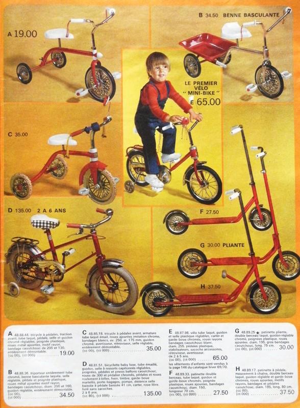 jouet vélo miniature
