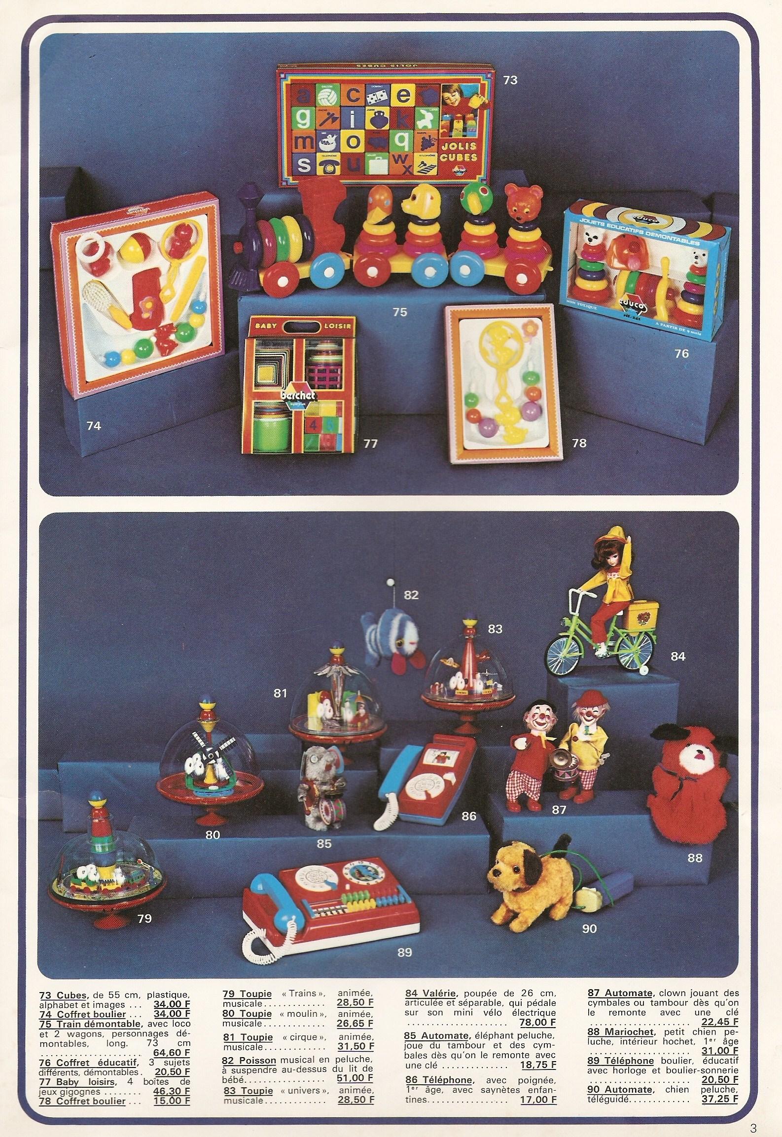 France Promo Promo Catalogue France 1975 Catalogue Jouets 5cjqA34RL